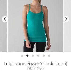 Lululemon Flow Power Y Tank Top